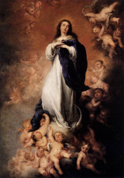 Murillo ‒ Neposkvrněné početí (1678)