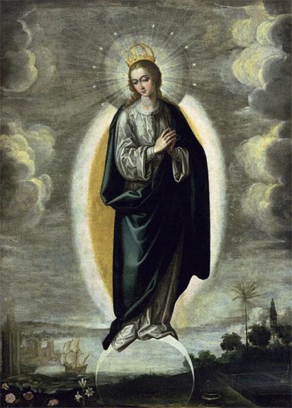 Pacheco ‒ Neposkvrněné početí (1621)